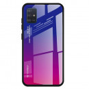 Husa Samsung Galaxy A51 Gradient Glass, Blue-Purple