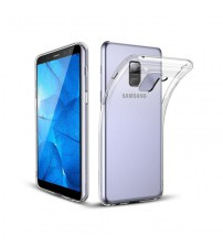 Husa Samsung Galaxy A6 Plus 2018 Slim TPU, Transparenta