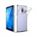 Husa Samsung Galaxy A6 Plus 2018 Slim TPU, Transparenta