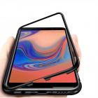 Husa Samsung Galaxy A7 2018, Magnetic Clear-Black