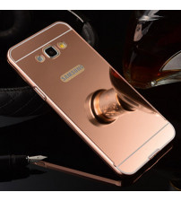 Husa Samsung Galaxy J4 Plus Oglinda Luxury, Rose Gold