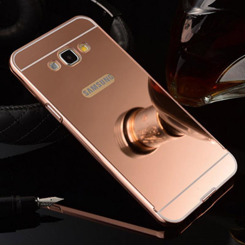 Husa Samsung Galaxy J6 Plus Oglinda Luxury, Rose Gold