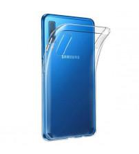 Husa Samsung Galaxy A7 2018 Slim TPU, Transparenta