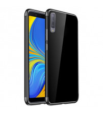 Husa Samsung Galaxy A7 2018 TPU Elegance, Black