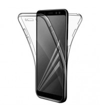 Husa Samsung Galaxy A7 2018 TPU Full Cover 360 (fata+spate), Transparenta