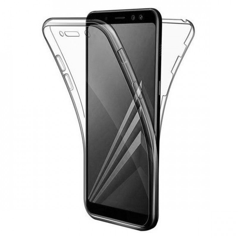 Husa Samsung Galaxy A7 2018 TPU Full Cover 360, Transparenta