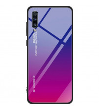 Husa Samsung Galaxy A70 Gradient Glass, Blue-Purple