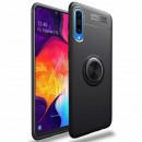 Husa Samsung Galaxy A70 Magnet Round Ring, Black