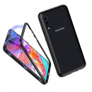 Husa Samsung Galaxy A70, Magnetic Clear-Black