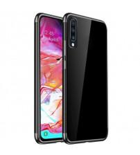 Husa Samsung Galaxy A70 TPU Elegance, Black
