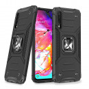 Husa Samsung Galaxy A70 Wozinsky Ring Armor Rugged, Black