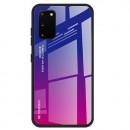 Husa Samsung Galaxy A71 Gradient Glass, Blue-Purple