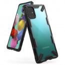 Husa Samsung Galaxy A71 originala RINGKE Fusion X, Black