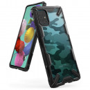 Husa Samsung Galaxy A71 originala RINGKE Fusion X Camo, Black
