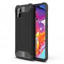 Husa Samsung Galaxy A71 Rigida Hybrid Shield, Black