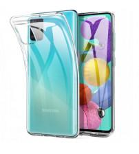 Husa Samsung Galaxy A71 Slim TPU, Transparenta