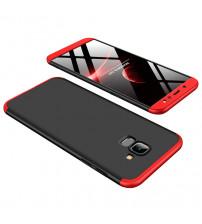 Husa Samsung Galaxy J4 Plus GKK, Black-Red