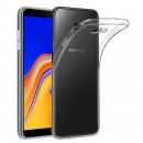 Husa Samsung Galaxy J4 Plus Slim TPU, Transparenta