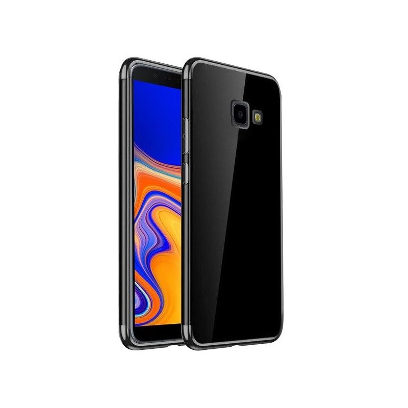 Husa Samsung Galaxy J4 Plus TPU Elegance, Black - TemperedGlass.ro