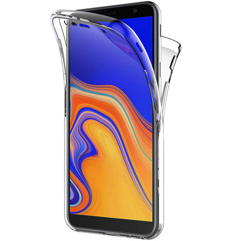 Husa Samsung Galaxy J6 Plus TPU Full Cover 360, Transparenta