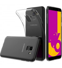 Husa Samsung Galaxy J6 2018 Slim TPU, Transparenta