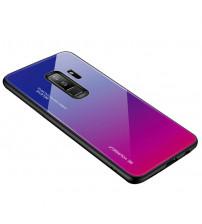 Husa Samsung Galaxy S9 Plus Gradient Glass, Blue-Purple
