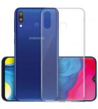 Husa Samsung Galaxy M20 Slim TPU, Transparenta