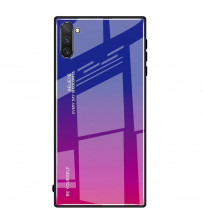 Husa Samsung Galaxy Note 10 Gradient Glass, Blue-Purple