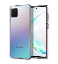 Husa Samsung Galaxy Note 10 Lite Slim TPU, Transparenta