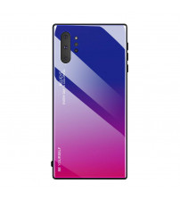Husa Samsung Galaxy Note 10 Plus Gradient Glass, Blue-Purple