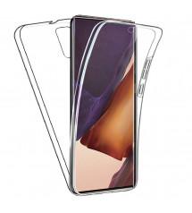 Husa Samsung Galaxy Note 20 TPU Full Cover 360 (fata+spate), Transparenta