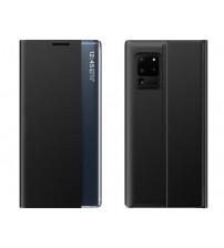 Husa Samsung Galaxy Note 20 Ultra tip carte Smart Window, Black