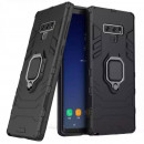 Husa Samsung Galaxy Note 9 Magnet Slim Ring, Black