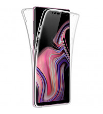 Husa Samsung Galaxy Note 9 TPU Full Cover 360 (fata+spate), Transparenta