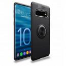 Husa Samsung Galaxy S10 Plus Magnet Round Ring, Black