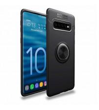Husa Samsung Galaxy S10 Magnet Round Ring, Black