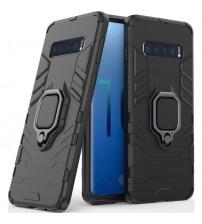 Husa Samsung Galaxy S10 Magnet Slim Ring, Black
