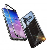Husa Samsung Galaxy S10 Magnetic Clear-Black
