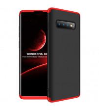 Husa Samsung Galaxy S10 Plus GKK, Black-Red