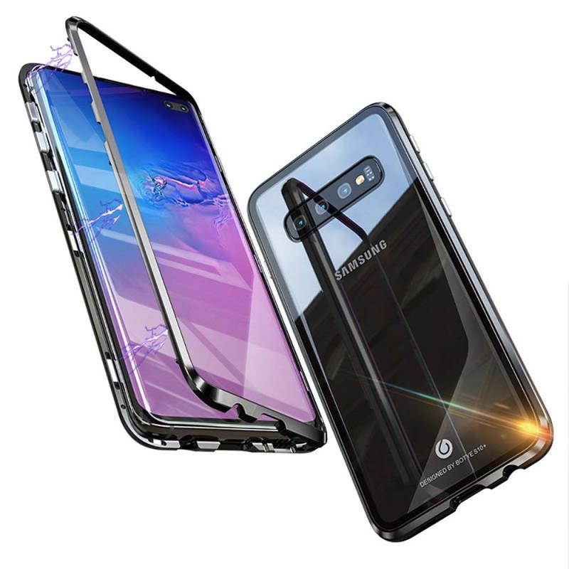 Husa Samsung S10 Plus Magnetic, Black - TemperedGlass.ro