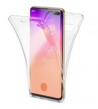 Husa Samsung Galaxy S10 Plus TPU Full Cover 360 (fata+spate), Transparenta