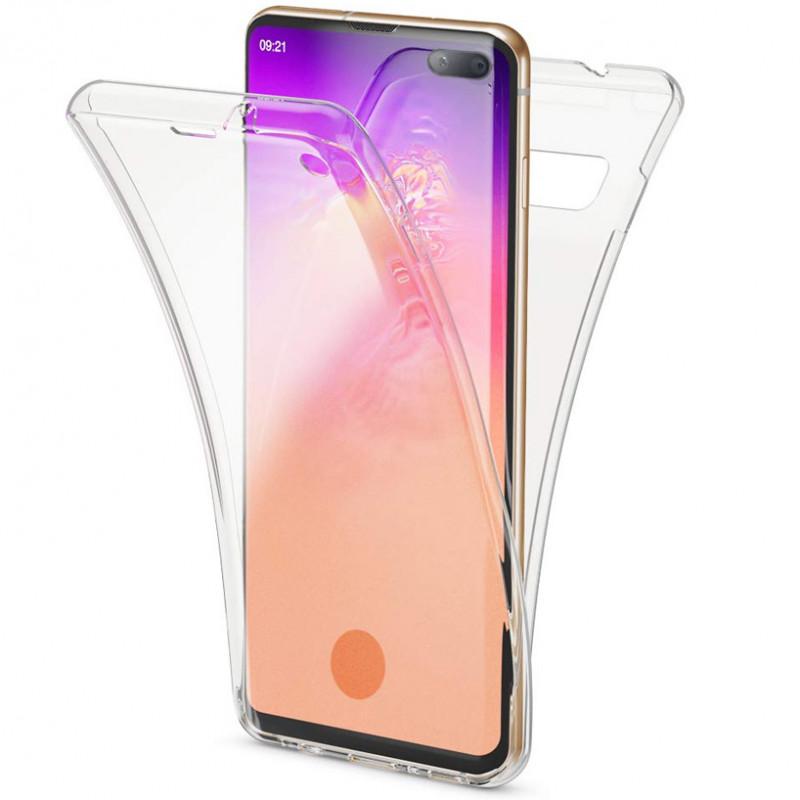 Husa Samsung Galaxy S10 Plus TPU Full Cover 360, Transparenta