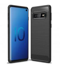 Husa Samsung Galaxy S10 Slim Armor TPU, Black