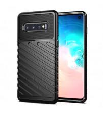 Husa Samsung Galaxy S10 Thunder Rugged TPU, Black