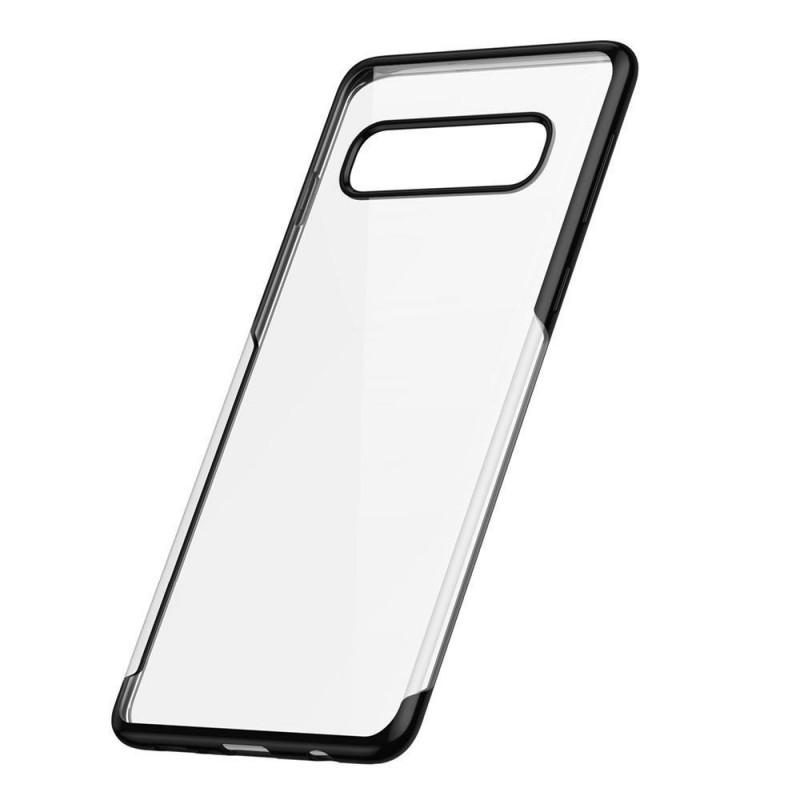 Husa Samsung Galaxy S10 TPU Elegance, Black - TemperedGlass.ro