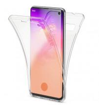 Husa Samsung Galaxy S10 TPU Full Cover 360 (fata+spate), Transparenta