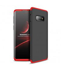 Husa Samsung Galaxy S10E GKK Full Cover 360, Black-Red
