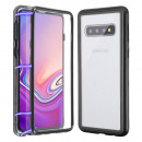 Husa Samsung Galaxy S10E Magnetic Clear-Black