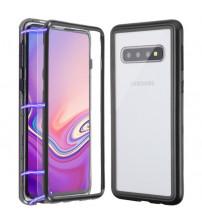 Husa Samsung Galaxy S10E Magnetic, Clear-Black