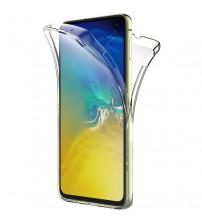 Husa Samsung Galaxy S10E TPU Full Cover 360 (fata+spate), Transparenta